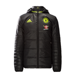 2016-2017 Chelsea Adidas Padded Jacket (Black)