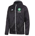 2016-2017 Celtic Elite Training Rainjacket (Black) - Kids