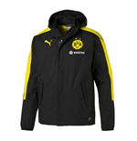 2016-2017 Borussia Dortmund Puma Performance Rainjacket (Black)