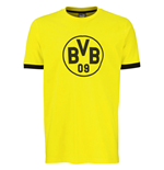 2016-2017 Borussia Dortmund Puma Badge Tee (Yellow)
