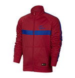 2016-2017 Barcelona Nike Core Trainer Jacket (Red)