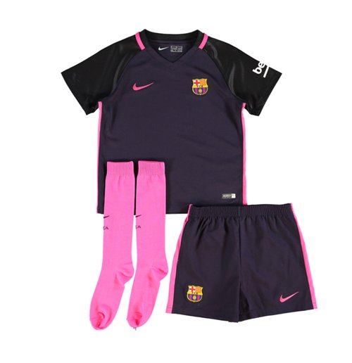 info for 371bf 1e5f3 2016-2017 Barcelona Away Nike Baby Kit