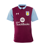 2016-2017 Aston Villa Home Football Shirt