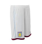 2016-2017 Aston Villa Home Football Shorts (White)