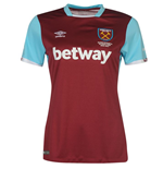 2016-2017 West Ham Home Ladies Football Shirt