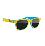 PACIFICO Two-Tone Wayfarer Sunglasses