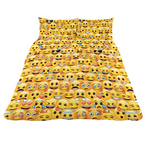 Emoji Double Duvet Set YL