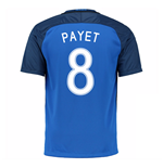 2016-17 France Home Shirt (Payet 8)