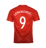 2016-17 Poland Away Shirt (Lewandowski 9)