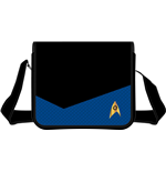Star Trek Shoulder Bag Blue Suit