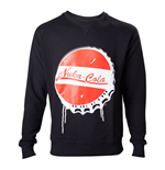 FALLOUT 4 Men's Nuka Cola Bottle Cap Sweater, Extra Large, Black