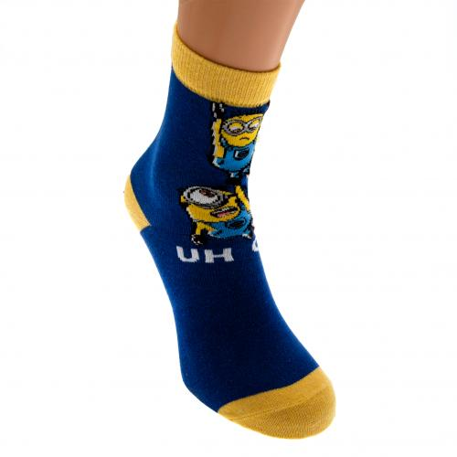 Minions Ladies Socks 1 Pack 6-8 BY