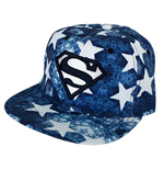 SUPERMAN Denim Stars Hat