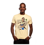 Garrincha T-Shirt // Yellow 100% cotton
