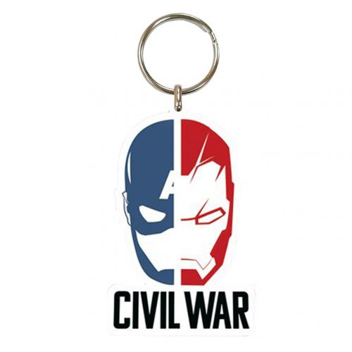 Captain America Civil War Keyring