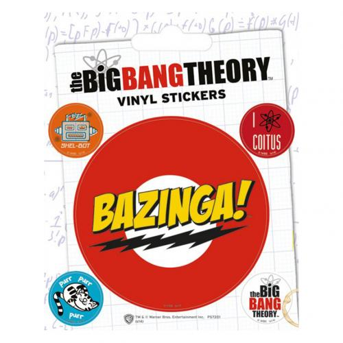 The Big Bang Theory Stickers