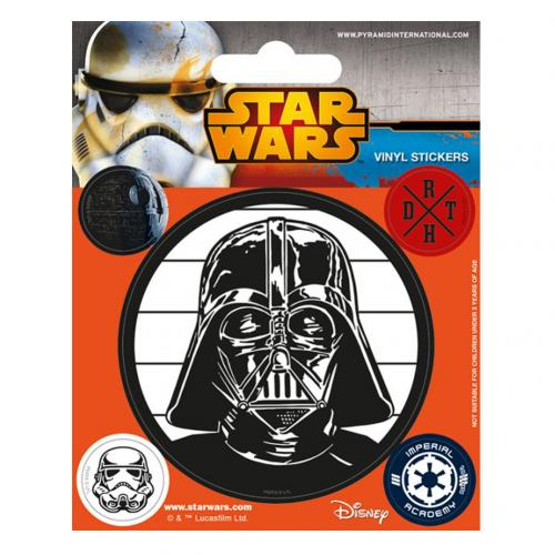 Star Wars Stickers Empire
