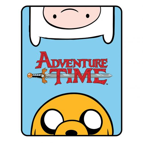 Adventure Time Fleece Blanket