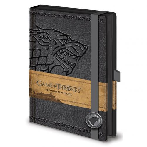 Game Of Thrones Premium A5 Notebook Stark