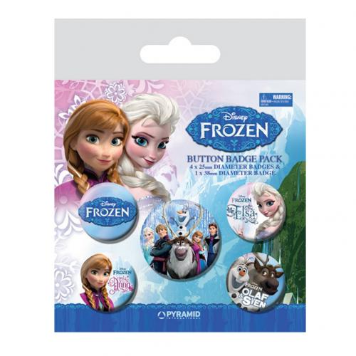 Frozen Button Badge Set