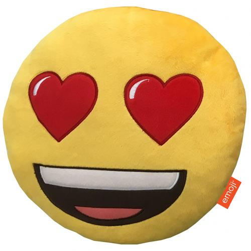 Emoji Cushion Heart Eyes
