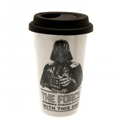 Star Wars Ceramic Travel Mug Darth Vader