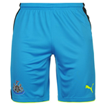 2016-2017 Newcastle Away Goalkeeper Shorts (Blue) - Kids
