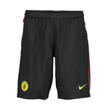 2016-2017 Man City Away Nike Football Shorts (Black)