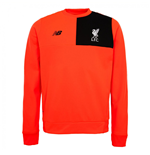 2016-2017 Liverpool Elite Training Sweat Top (Red) - Kids