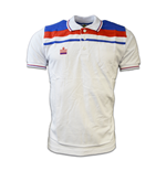 Admiral England Retro Polo Shirt (White)