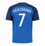 2016-17 France Home Shirt (Griezmann 7)