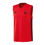 2016-2017 Benfica Adidas Sleeveless Shirt (Red)