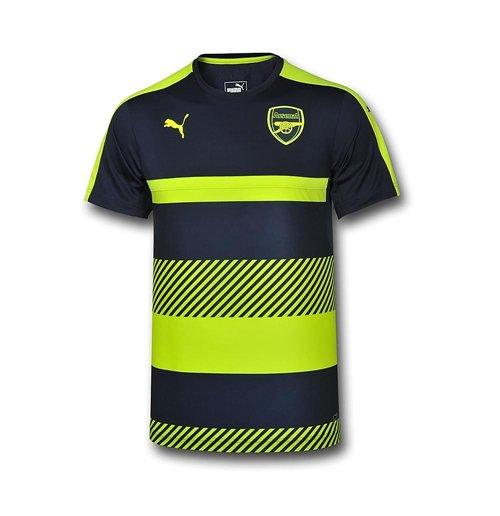 separation shoes 70c84 2d32e 2016-2017 Arsenal Puma Training Jersey (Peacot-Yellow)