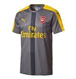 2016-2017 Arsenal Puma Stadium Jersey (Grey) - Kids