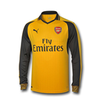 2016-2017 Arsenal Puma Away Long Sleeve Shirt (Kids)