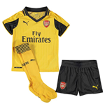 2016-2017 Arsenal Away Little Boys Mini Kit