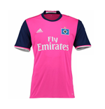 2016-2017 Hamburg Adidas Away Football Shirt