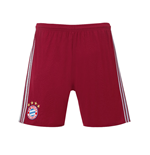 2016-2017 Bayern Munich Adidas UCL Shorts (Red) - Kids