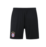 2016-2017 Bayern Munich Adidas Away Shorts (Black)