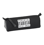 Parental Advisory pencil case square