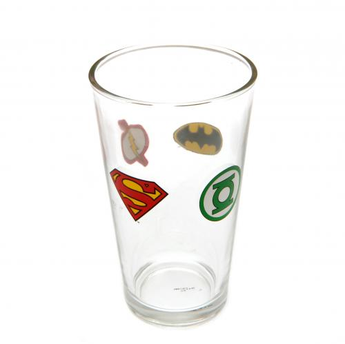 DC Comics Large Glass
