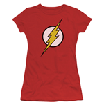 The FLASH Classic Logo Women's Red Tshirt