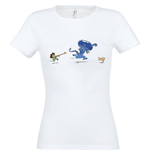 Alien Ladies T-Shirt Cute Cat