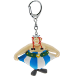 Asterix Keychain Obelix holding his pants 13 cm