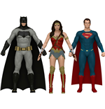Batman v Superman Bendable Figures 3-Pack 14 cm