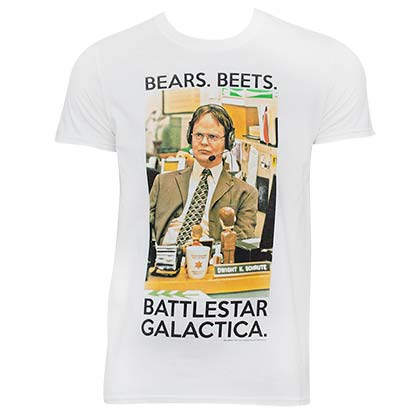 The Office Battlestar Galactica Tee Shirt