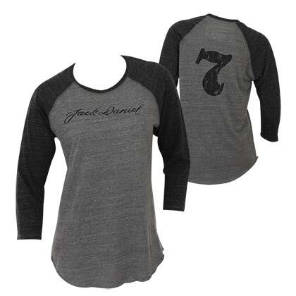 c5f5a7aa4cc JACK DANIELS Women s Baseball Tee Shirt