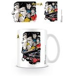 Star Trek 50th Anniversary Mug Boldly Go