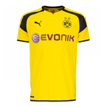 2016-2017 Borussia Dortmund Puma UCL Home Football Shirt