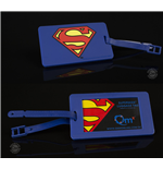 DC Comics Q-Tag Luggage tag Superman
